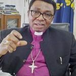 The Rt. Rev. Dr. Emmanuel Olisa Chukwuma, Anglican archbishop of Enugu. (File photo)