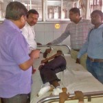 Area Christian Leaders visit Joginder Gold in hospital. (Morning Star News)