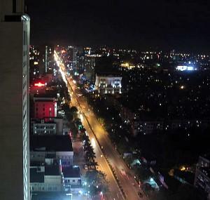Street in Vinh, Vietnam. (Quang Trung Vinh, Wikipedia)