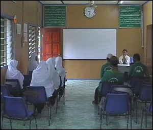Classroom at Faith Purification Center in Ulu Yam (Batul Iman), Selangor state. (Government of Malaysia)