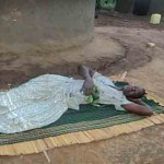 Aisha Twanza recovering from poisoning at her home in Kakwangha, eastern Uganda. (Morning Star News)