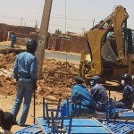 Sudanese Church of Christ building in Omdurman, Sudan demolished on Feb. 17, 2014. (Morning Star News)