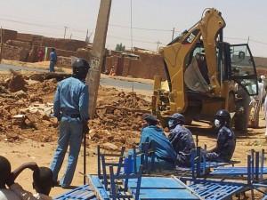 Sudanese Church of Christ building in Omdurman, Sudan demolished on Feb. 17, 2014. (Morning Star News)