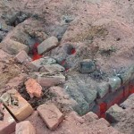 Brick kiln where Shahzad and Shama Masih were killed. (Pakistan Today)