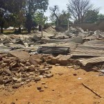 Remains of St. Paul's Catholic Church in Mile One village, Kaduna state. (Morning Star News)