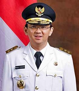 "Jakarta Gov. Basuki ""Ahok"" Tjahaja Purnama. (Wikipedia)"