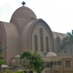 St. Mark's Coptic Orthodox Cathedral, in Abbasyia, suburb of Cairo. (Wikipedia)