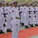 Burma army personnel arrested Catholic priests. (Wikimedia)