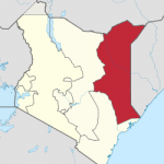Kenya's North Eastern Province, where persecution against Christians takes place. (Wikipedia)
