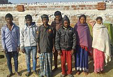 Members of the Christian community in Bartu Kubuaa village, Jharkhand state. (Global Christian News)