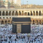 The Kaaba in Mecca, Saudi Arabia, subject of blasphemy in Pakistan. (Zakaryaamr at Wikipedia)