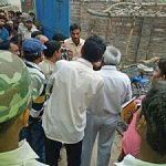 Hindu extremists disrupted worship at Mahanaim Church in Bihar state on March 19. (Global Christian News)