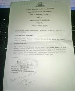 Case filed anew against pastor Yohana Madai of Tomondo, Zanzibar, Tanzania. (Morning Star News)