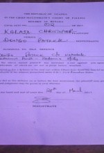 Court case filed by pastor Christopher James Kalaja against Muslim extremists in Uganda. (Morning Star News)