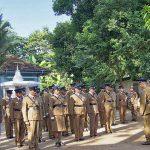 Police in Ingiriya, Sri Lanka. (Wikipedia)