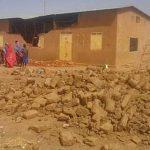 Sudan Church of Christ building demolished outside Khartoum on Sunday (May 7). (Morning Star News photo)