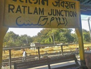Ratlam railway station in Madhya Pradesh state, India. (Morning Star News via Indiarailinfo.com)