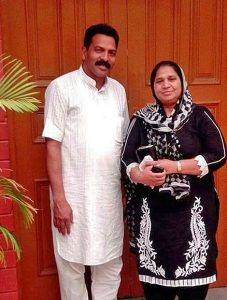 Pastor Sultan Masih and his wife Sarabjit. (Morning Star News)