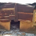 One of the homes burned in assault on 13 villages in Plateau state, Nigeria Oct. 8-17. (Morning Star News)
