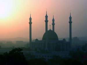 National Mosque in Abuja, Nigeria. (Wikipedia)
