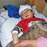 Boy wounded in attack on church in Quetta, Pakistan on Sunday (Dec. 17). (Morning Star News)