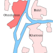 Location of Omdurman, Sudan. (Wikipedia)