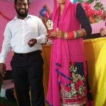 Seema Devi and Pastor Jeewer Joeswa at Christmas Day service. (Morning Star News)