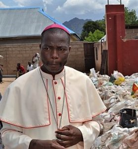 Catholic Bishop of Yola DIocese Stephen Mamza. (Wikipedia)