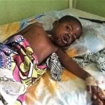 Chanka Amos, 4, was wounded in March 8 attack. (Morning Star News)