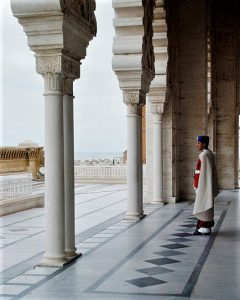 A guard at the Mausoleum of Mohammed V in Rabat, Morocco. (Wikipedia, Steven C. Price)