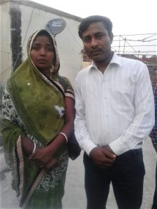 Pastor Rakesh Kumar Masih and wife Asha. (Morning Star News)