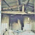 Kanchanpur Emmanuel Church building in midwest hilly region of Nepal was set ablaze on May 11.