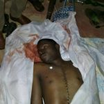 The body of Muluuta Kuzaifa, likely killed by Muslim villagers. (Morning Star News)