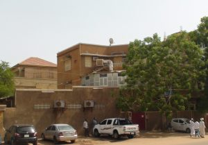 Sudan Pentecostal Church building in the heart of Khartoum. (Morning Star News)