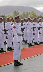 Burma army personnel. (Wikimedia)