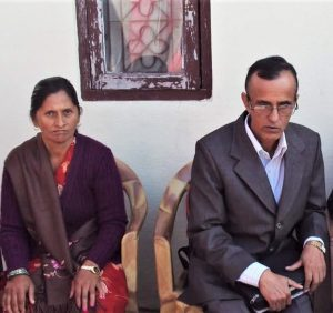 Pastor Govinda Dhakal and wife Saraswoti Dhakal. (Morning Star News)