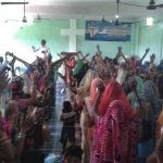 Church at worship in Jaunpur District, Uttar Pradesh on Sept. 16 in spite of persecution by Hindu extremists. (Morning Star News)