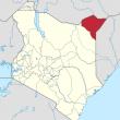 Mandera County, Kenya. (Wikipedia)