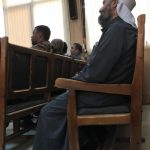 Imam in Bouira court where acquittal verdict was delivered. (Morning Star News)