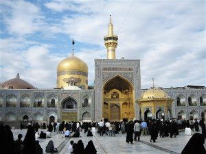 Shrine of Imam Ali Reda in Mashad, Iran. (Iahsan at English Wikipedia)