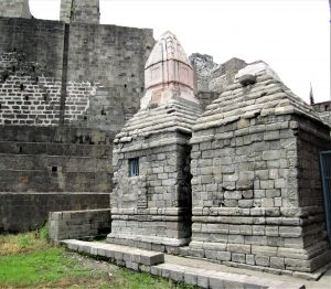 Shrine at Kangra Fort, Himachal Pradesh, India. (Wikipedia, Abhijit Saggu)