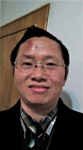 Early Rain Covenant Church member identified as Liu, after being beaten in police custody. (Facebook, Early Rain Covenant Church)