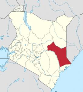 Garissa County, Kenya. (Wikipedia)