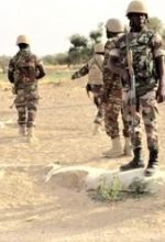 Nigerian troops stationed against Boko Haram in 2015. (Wikipedia)