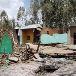 Remains of Kale Hiwot Galeto church building in Halaba Kulito, Ethiopia, after attack on Feb. 9, 2019. (Steadfast Global)