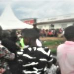 Open-air evangelistic event in Bwera, Uganda. (Morning Star News)