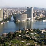 The Nile River in Cairo, Egypt. (Wikipedia)