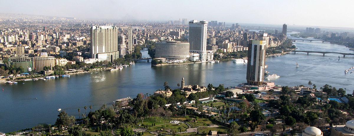 The Nile River in Cairo, Egypt. (Wikipedia)
