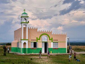 Rural mosque in Uganda. (Wikipedia, Rod Waddington)