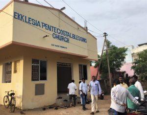 Ekklesia Pentecostal Blessing Church in Chennai metropolitan area, Tamil Nadu, India. (Morning Star News)